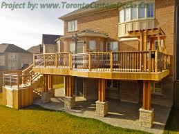 Deck Pergola Pictures by Toronto Custom Deck Design Pergolas Fences Outdoor Kitchens
