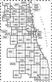 chicago zip code map chicagoland chicago area by zipcode