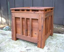 planters pine wood planter boxes box pallets untreated cypress
