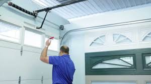 overhead garage door manual how to open garage door manually youtube