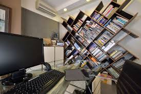 apartments unique wooden bookshelf in what is nice home office