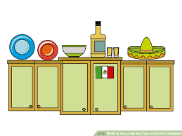 how to decorate top of kitchen cabinets how to decorate the top of kitchen cabinets 15 steps
