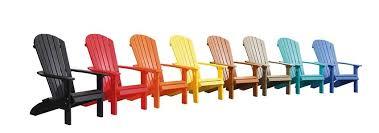 Adirondack Patio Chair Gera Gardens Poly Wood Furniture Chairs