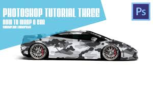 camo lamborghini photoshop tutorial three adobe photoshop cs6 how to wrap a car