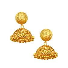 gold jhumka earrings best gold jhumka earring designs with price at cs jewellers
