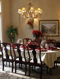 dining table christmas decorations dining room design festive decorations for the upcoming christmas