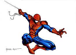 spider man colouring style parisalleyne deviantart