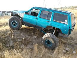 turquoise jeep car project