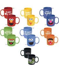 mugs design sesame street coffee mug choose your design