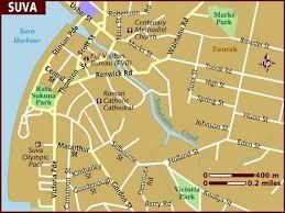 map of suva city map of suva