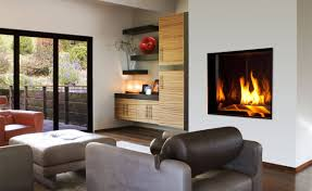 fireplace contemporary living room with propane fireplace and