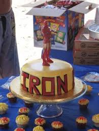 iron man 2 cake candles from www hardtofindpartysupplies com