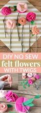 Sewing Projects Home Decor 25 Best Felt Crafts Ideas On Pinterest Felt Felt Projects And