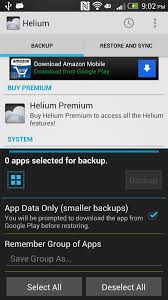 completely back up your apps u0026 data on your htc one or
