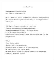 15 cashier resume templates free word pdf