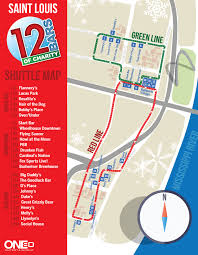 Map St Louis St Louis Map 12 Bars Of Charity
