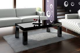 Black Glass Side Table Combine Smaller Side Tables And Black Coffee Tables To Create A