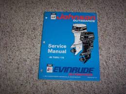 1994 johnson evinrude 100 112 115 hp outboard motor service repair