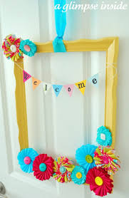 Welcome Home Decorating Ideas 438 Best Baby Shower Wreath Images On Pinterest Baby Wreaths