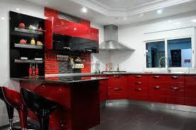 meuble cuisine noir laqué cuisine noir idées de décoration capreol us