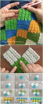 newborn pattern video baby knitting patterns crochet puff braid entrelac blanket free