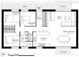 plan maison 100m2 3 chambres plan maison etage 4 chambres 1 bureau fresh plan maison 3 chambres