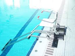 siège de handicapé siège ascenseur de piscine pmr sans ancrage