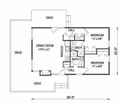 Cabin Designs And Floor Plans Contemporary Style House Plan 2 Beds 2 Baths 786 Sq Ft Plan 116