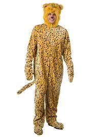 Animal Halloween Costumes Men Cheetah Costume
