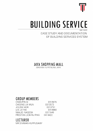 case study and documentation of building services systems by lai