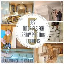 best paint to paint kitchen cabinets how to spray paint cabinets like the pros spray paint cabinets