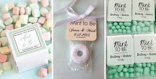 mint to be wedding favors 12 budget friendly wedding favour ideas onefabday