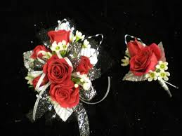 Red Prom Corsage Prom