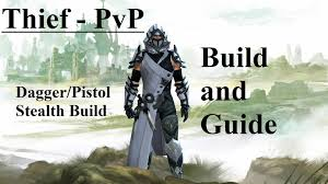 guild wars factions 2 wallpapers thief pvp build guide dagger pistol hd guild wars 2 youtube