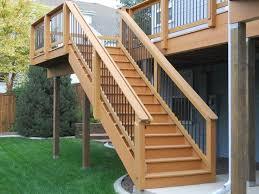 Deck Stair Handrail Deck Stairs Design Ideas Aloin Info Aloin Info