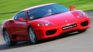 ferrary driving junior driving experience at prestwold driving centre