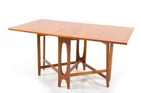 Antique Drop Leaf Kitchen Table by Vintage Drop Leaf Teak Dining Table By Bendt Winge For Kleppes
