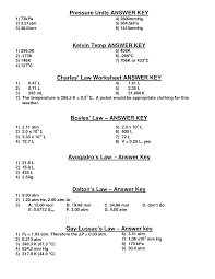 boyles and charles law worksheet super teacher worksheets