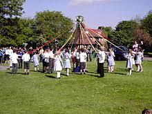Celebration In Uk May Day