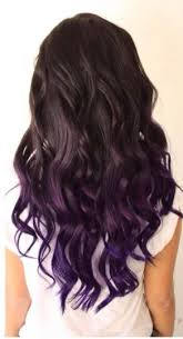weave hairstyles with purple tips 30 luxuriously royal purple ombre hair color ideas