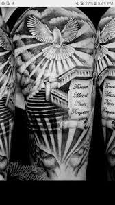image result for sun and doves shoulder tattoo fav pinterest