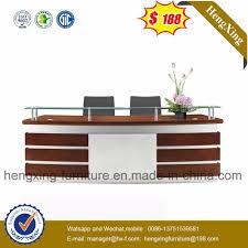 desktop table design china modern design glass desktop office furniture reception