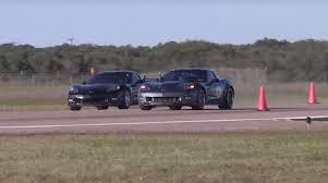 1000 hp corvette 780 hp corvette zr1 drag races 1 000 hp c6 z06 in supercharger vs