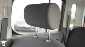 nissan cube interior backseat 2014 nissan cube head restraints and or headrests youtube