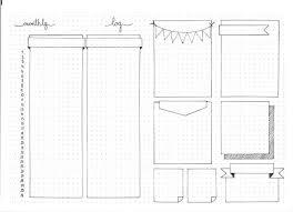 drawing layout en espanol free hobonichi journal filofax printable note page tip perfect