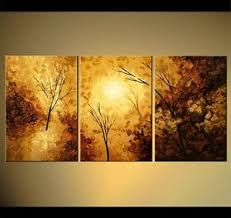 original abstract modern landscape made landscape tree painting original abstract by osnat made to