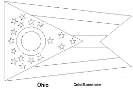 nevada state flag coloring page state of ohio flag and map coloring pages