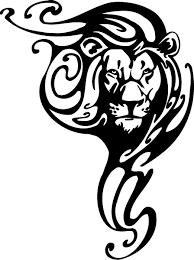 virgo leo tribal tattoo design photo 1 2017 real photo