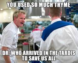 Meme Dr - dr who gordon ramsay meme