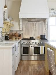 kitchen stainless steel backsplashes pictures ideas from hgtv of